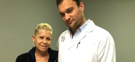 Barbara enjoys her increased quality of life post treatment by Miami Back and Neck Specialists