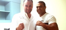 Dr. Brusovanik helps World Champion MMA fighter Vitor Belfor without surgery