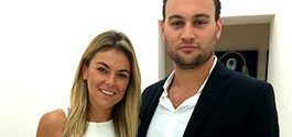 Canadian actress Serinda Swan and Minimally Invasive Spine Surgeon Dr. Brusovanik