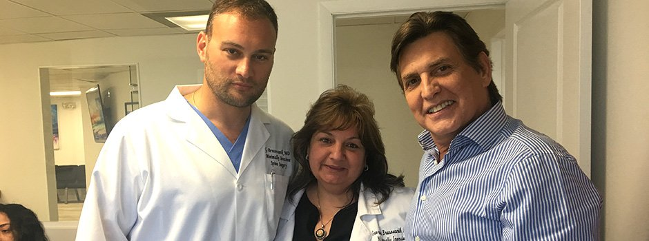 Top Spine Doctor Dr. Georgiy Brusovanik Miami and Victor Camara