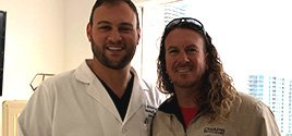 Dr. Brusovanik helps world champion Kiteboarder Nick Obea. Want help with your back pain? Call Spine Doctor Dr. Georgiy Brusovanik at Miami Back & Neck Specialists. Call 305 587 2611 for help today!