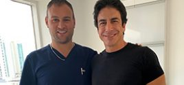 Ricardo Chavez, Actor, Author, and Producer, is a patient of Dr. Georgiy Brusovanik, Miami Back & Neck Specialists.