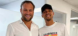 Kieran-Gibbs,-professional-football-player visits spine specialist in Miami